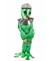 Alien vrouw kostuum