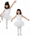 Ballet danseres wit kostuum voor meisjes