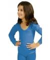 Blauwe kinder bodysuit