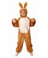 Bruine haas kostuum voor kinderen