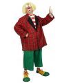 Clown kostuum bassie