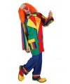 Clown verkleed outfit voor heren