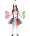 Clownsjurkje voor meisjes