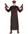 Duitse generaal kostuum zwart