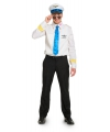 Funny piloot kostuum voor heren