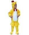 Gele kip kostuum voor kids