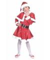 Glitter kerst jurkje voor kinderen