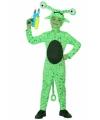 Groen alien kostuum voor kids