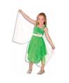 Groen elf jurkje voor meisjes