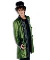 Groene steampunk jas voor heren