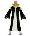 Halloween alien kostuum met hoge kraag