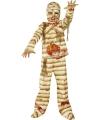 Halloween bloederig mummie kostuum voor kids