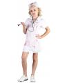 Halloween bloederig zuster kostuum voor meisjes