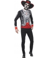 Halloween day of the dead el senor shirt met hoed