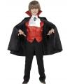 Halloween dracula kinder kostuum 4 delig