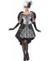 Halloween duistere engel kostuum met vleugels