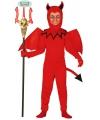Halloween duivel kostuum voor kinderen