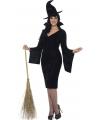 Halloween grote maten heksen jurkje voor dames