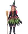 Halloween luxe heksenjurk voor meisjes
