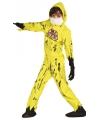 Halloween nuclear zombie kostuum voor kinderen