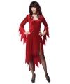 Halloween rood duivel jurkje voor dames