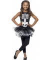 Halloween skelet kostuum voor meiden