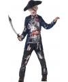 Halloween zombie piraat kostuum voor jongens