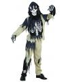 Halloween zombie skelet pak voor kinderen