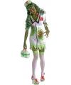 Halloween zombie verpleegster kostuum