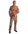 Heren kostuum patchwork