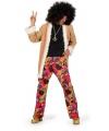 Hippie broek met jasje voor heren
