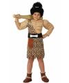 Holbewoner kostuum voor jongens