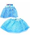 Ijsprinses tutu rokje blauw voor meisjes