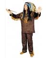 Indianen kostuum hania voor heren