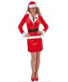 Kerst mantelpakje kerst voor dames