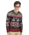 Kerst shirt kerst opdruk heren