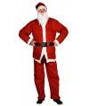 Kerst voordelig kerstman pak 5 delig