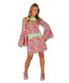 Kleurrijk disco jurkje
