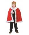Koning cape voor kinderen
