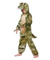 Krokodillen jumpsuit voor kinderen