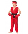 Kung fu strijder pak voor kinderen