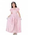 Lange roze prinsessenjurk