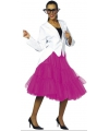 Lange tule petticoat roze