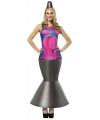 Lava lamp kostuum voor dames