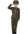 Leger officier kostuum voor kinderen