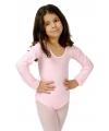 Lichtroze kinder bodysuit