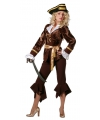 Luxe piraten dameskleding sparrow