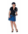 Luxe politie kostuum voor dames