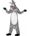 Madagascar zebra kostuum voor kinderen