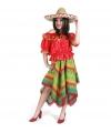 Mexico kostuum voor dames